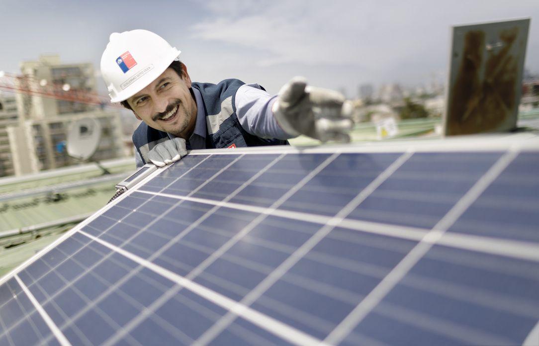 solar installation Chile