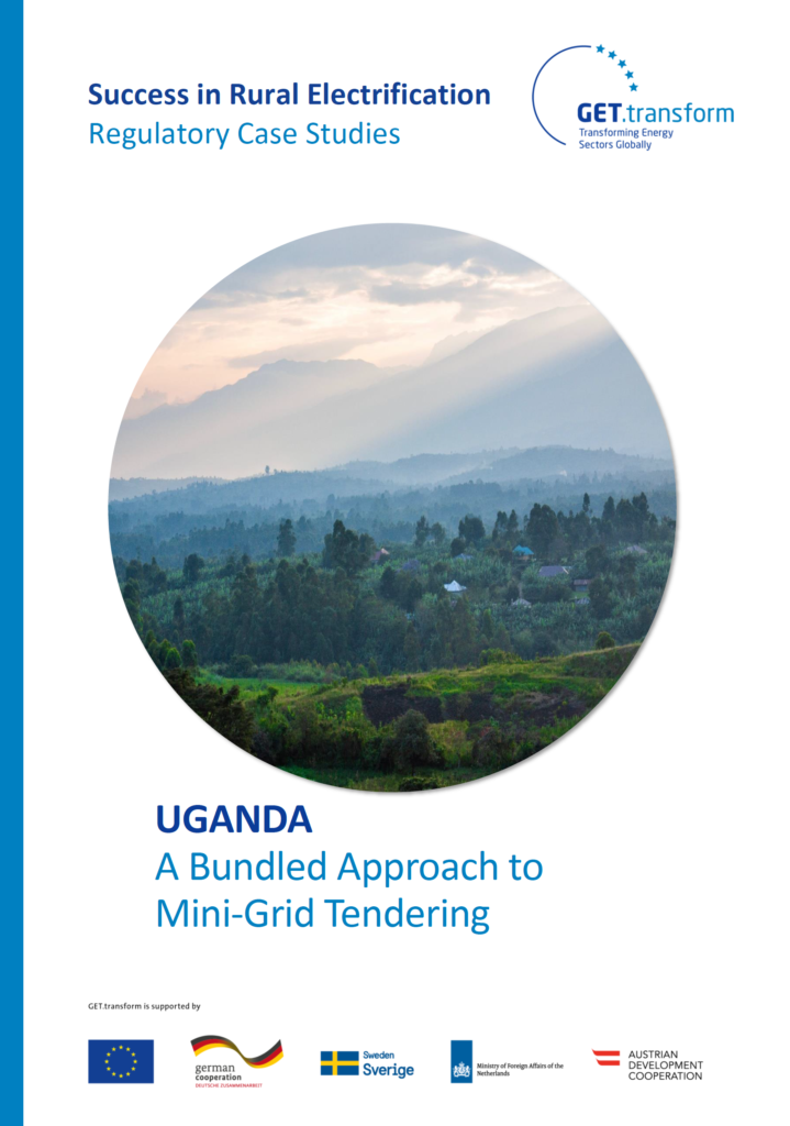 Cover, Success in Rural Electrification - Case Study Uganda