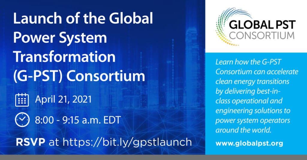 G-PST Launch Event Announcement