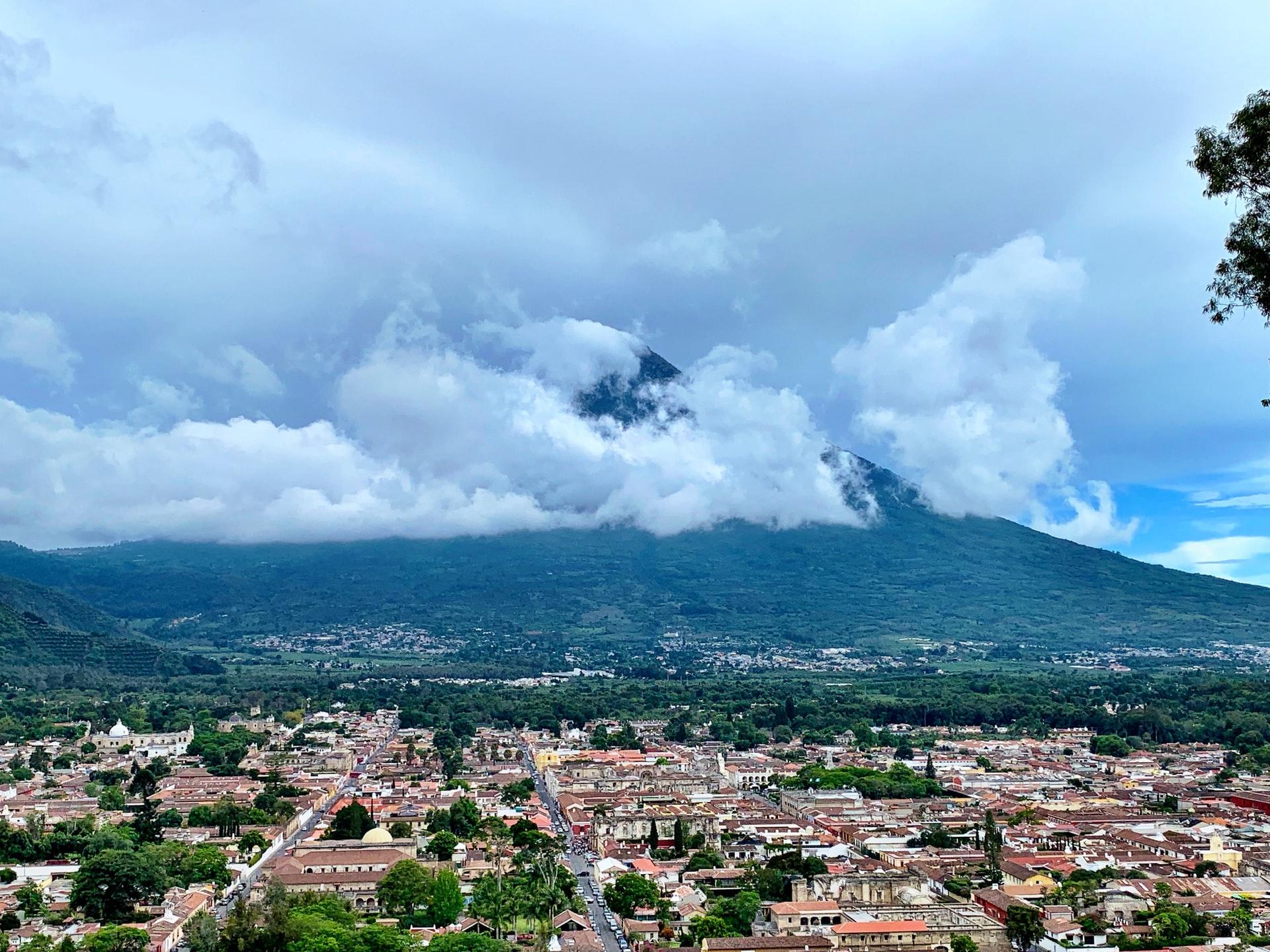 Volcano de Agua Antigua, Guatemala