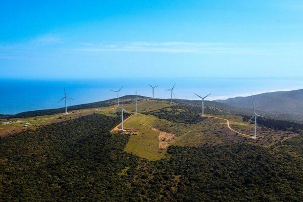 Metrowind van Stadens Wind Farm, South Africa